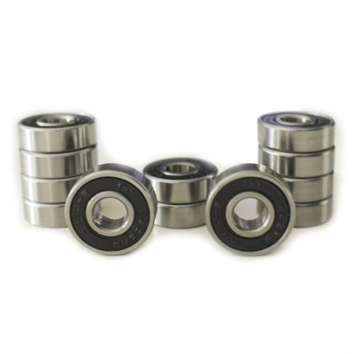 Premium ABEC 9 Bearings 608zz capsuled - 1 set (12 pieces)