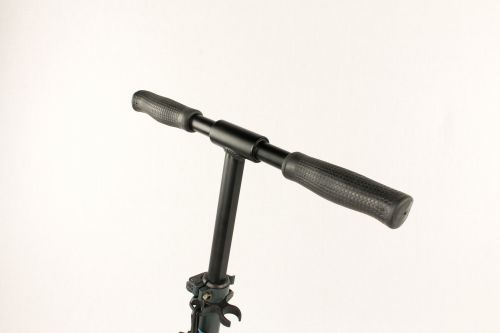 Hepros XXXL BigWheel Fully Trotinette 200mm Scooter anthracite