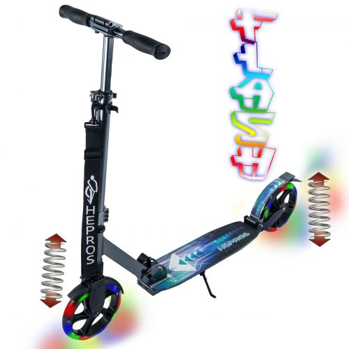 Hepros XXXL Flash Fully Scooter 200mm anthracite