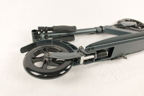Hepros XXXL Fully Trotinette 200mm Scooter anthracite b-stock
