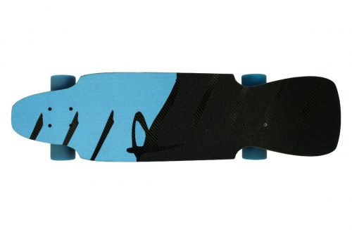 Ripcore Complete Longboard Kicktail Dope Riot 31.5 x 8.63