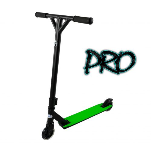 Hepros Freestyle Scooter Acrobatique Stunt Scooter Wild - PRO | Néon Vert