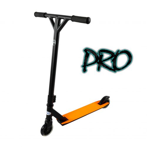 Hepros Freestyle Scooter Acrobatique Stunt Scooter Wild - PRO | Néon Orange