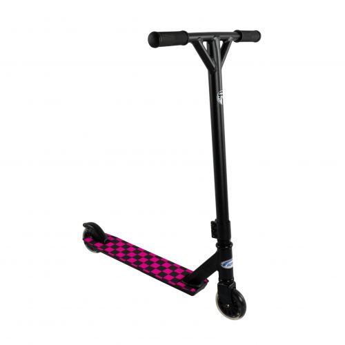Hepros Freestyle Stunt Scooter Wild - BASIC | Checkeres Pink