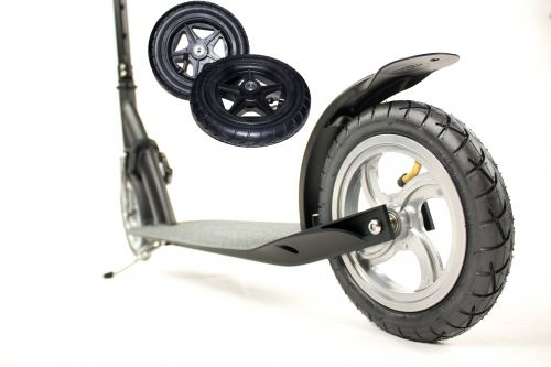 Hepros XXXL Ultra Air Step 205mm Scooter Black