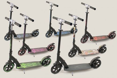 Hepros XXXL Ultra Flash Scooter 200mm Special Edition