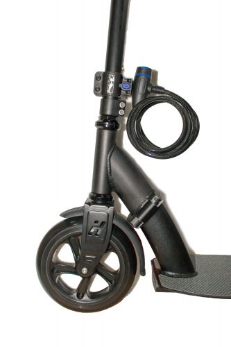 Spiral cable lock bike lock Scooter lock with frame holder