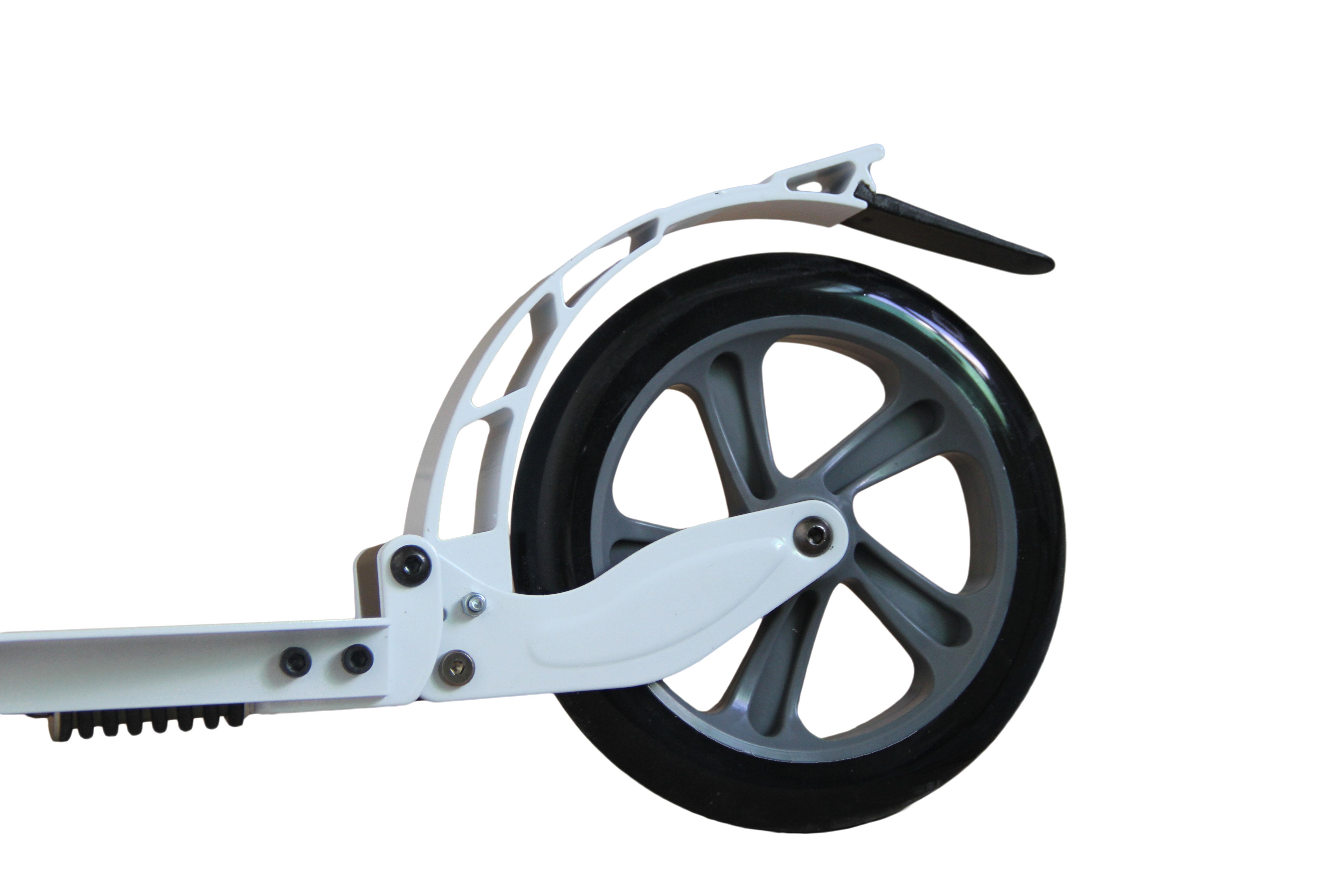 Hepros XXXL Air Fully Scooter 200mm Cityroller weiß