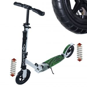 Hepros XXXL Air Fully Scooter 200mm Cityroller weiß