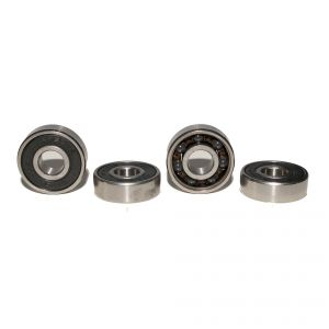 Premium ABEC 9 Hybrid ceramic ball Bearings 608zz capsuled - 1 set (4 pieces)