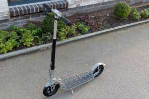 Hepros Ultra Air VA stainless steel scooter 205mm Made in Germany