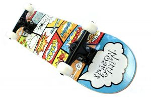 Little Boards Cartoon Complete Kinder Skateboard 6.5