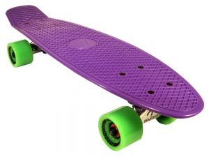 Paradise Plastic Cruiser Purple / Neon Green