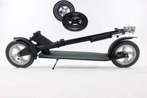 Hepros XXXL Ultra Air Scooter 205mm Black