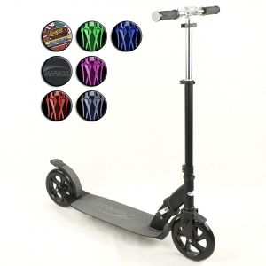 Hepros XXXL Ultra BigWheel Scooter 200mm Black