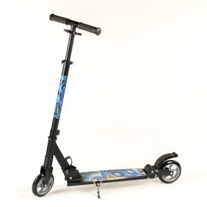Hepros XXL BigWheel Fully Trotinette 145mm Scooter Black