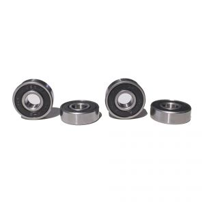 Premium ABEC 9 Bearings 608zz capsuled - 1 set (4 pieces)