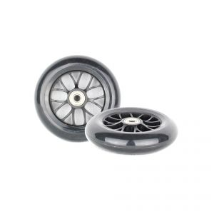 PU 120mm Spare Wheels for Scooter black - 2 pieces