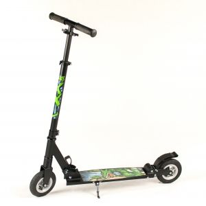 Hepros XXL Air Fully Scooter 150mm PR Pneumatic Wheels  Black