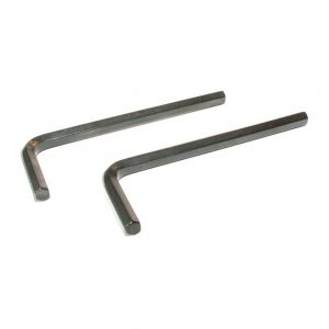 Allen Key 5mm,, short - 2 Pieces